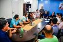 Câmara de Vereadores se reúne com Prefeito, Caixa Econômica e lotéricas para debater projeto de lei