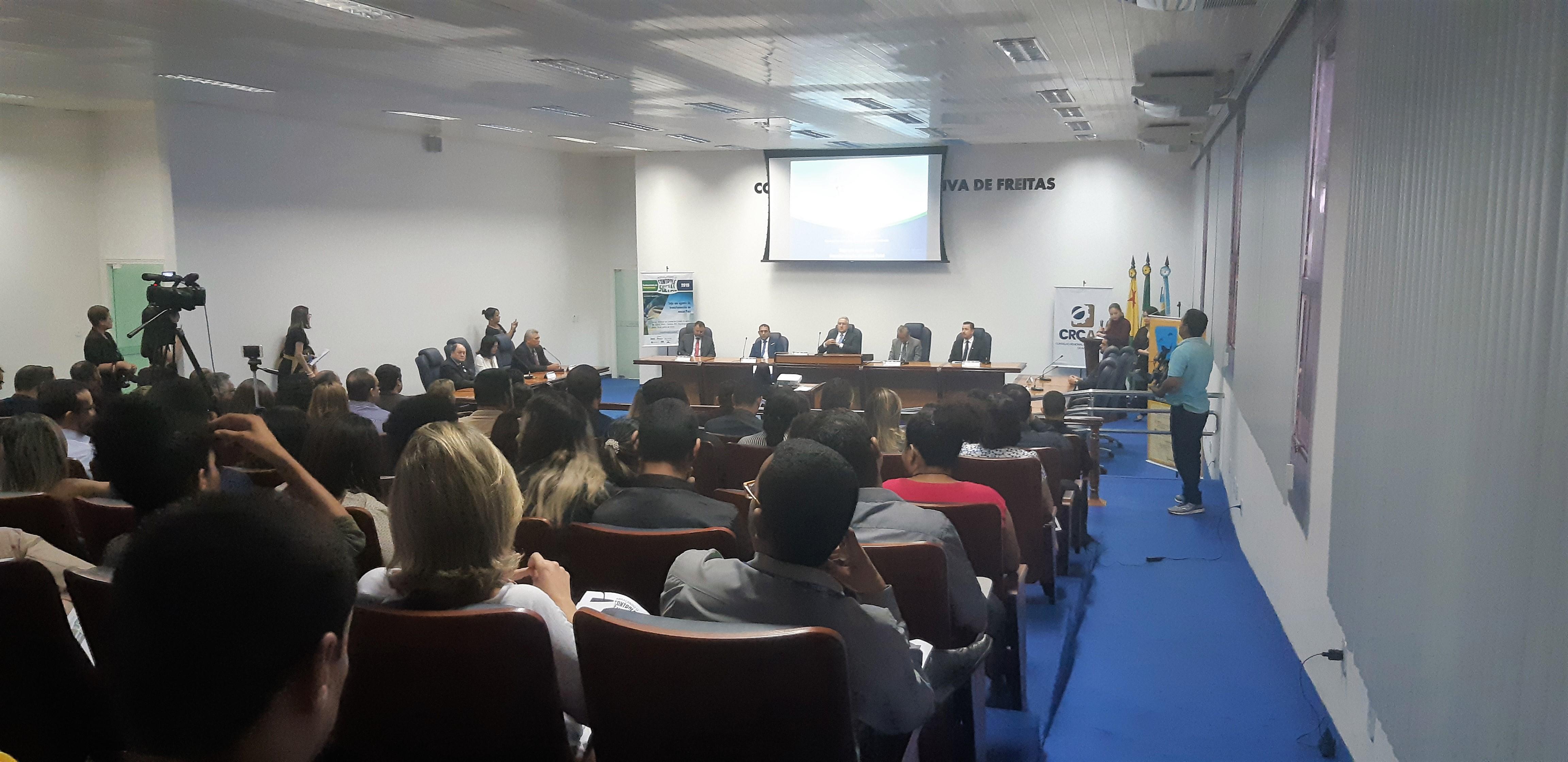"""Câmara participa do evento """"Abraçando o Controle Social"""""""