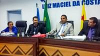 Gerente da agência do INSS de Cruzeiro do Sul realiza visita à Câmara de Vereadores
