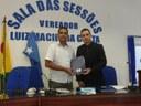 Gerente regional do CIEE faz visita ao Poder Legislativo Municipal