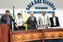 Nova mesa diretora da Câmara Municipal de Cruzeiro do Sul Biênio 2019/2020