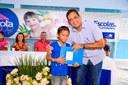 Romário Tavares participa de aula inaugural do ano letivo nas escolas municipais