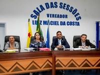 Secretaria Municipal de Saúde realiza prestação de contas à Câmara de Vereadores