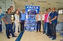 Superintendente da Caixa Econômica Federal recebe Vereadores de Cruzeiro do Sul