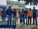 Vereadores de Cruzeiro do Sul vão ao Hospital Dermatológico Sanitário verificar motivos de falta de medicamentos para Hanseníase