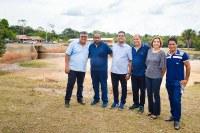 Vereadores participam da inauguração da primeira etapa da obra de revitalização do Igarapé Preto