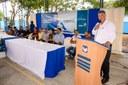 Vereadores participam de solenidade de reinauguração de reforma de escola em Cruzeiro do Sul