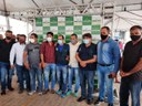 Vereadores participam do lançamento da operação cidade limpa, em Cruzeiro do Sul