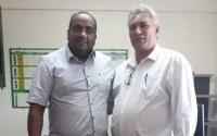 Presidente Clodoaldo Rodrigues firma parceria com o Presidente  da Câmara  Municipal  de Rio Branco
