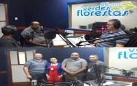 Presidente da Câmara de Vereadores concede entrevista na Rádio Verdes Florestas