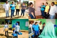 Presidente da Câmara Municipal participa de entrega de mosqueteiros em Zona Rural da Cidade