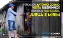 Vereador Antônio Cosmo visita Ribeirinhos dos Rios Valparaíso, Juruá e Mirim