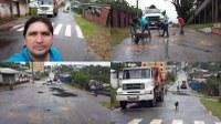 Vereador Franciney Melo acompanha Operação Tapa Buracos pelo centro da Cidade