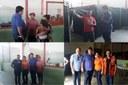 Vereador Franciney Melo Visita Abrigo das famílias afetadas pela cheia do Rio Juruá