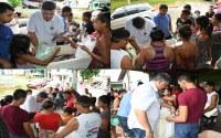 Vereador Marivaldo Figueiredo faz doações de Peixes para famílias carentes