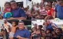 Vereador Marivaldo Figueiredo realiza doações para crianças no abrigo montado no Ginásio Alailton Negreiros