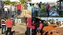 Vereador Marivaldo visita o bairro da Várzea junto com o Secretário Municipal de Obras