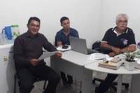 Vereador Mazinho Farias se reúne com Gerente do SENAR / Acre, em busca de cursos técnicos para os produtores rurais da cidade