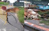 Vereador Ronaldo Onofre faz reivindicações de Ruas da Cidade em estado de abandono